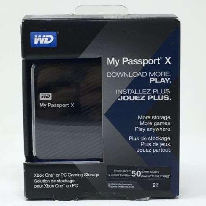 2TB WD MY PASSPORT EXTERNAL HARD DISK